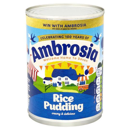 Ambrosia Rice Pudding 400g 756781001056