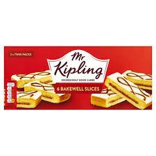 Mr Kipling Bakewell Slices 6pk