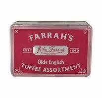 Farrah's Olde Engl Toffee Tin 227g