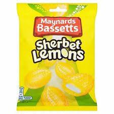 MB Sherbert Lemons 192g