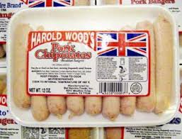 Harold Wood's Pork Chipolatas 12oz 043208000076