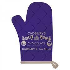 Cadbury Oven Mitt