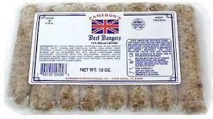Cameron's Beef Bangers 13oz
