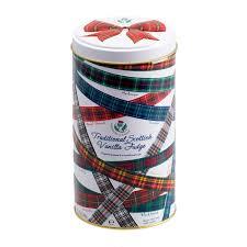 Gardiner's Tartan Ribbon Fudge Tin 170g