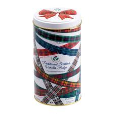 Gardiner's Tartan Ribbon Fudge Tin 170g