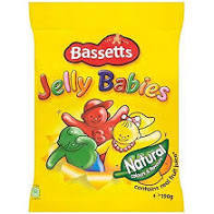 MB Jelly Babies 190g 7622300700157