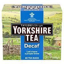 Yorkshire Tea Decaf 80's