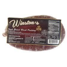Winston's Irish Black Pudding 16oz 858298001502