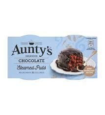 Aunty's Steamed Puds Choc 2pk