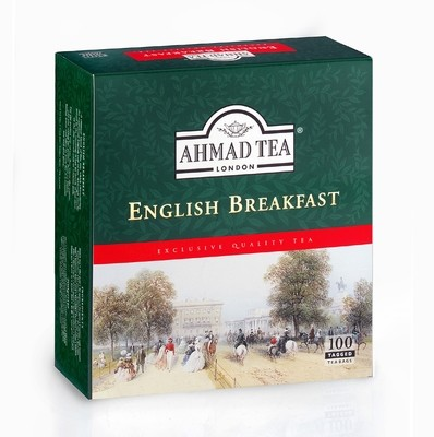 Ahmad Tea English Breakfast 100's