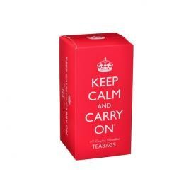 Keep Calm Carry On Bfast Teabags 40s