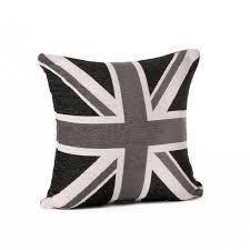 Black And White Union Jack Collection Cushion 5060397395948