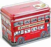 Churchills Double Decker Toffee Tin