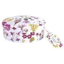 Gardiners Vanilla Fudge Flower Tin
