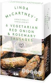 McCartney's Vegetarian Sausages Onion & R'mary 6pk