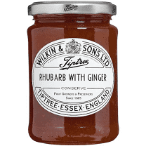 Wilkin & Sons Rhubarb With Ginger Jam 340g