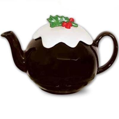 Xmas Ceramic Teapot