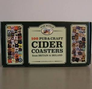 100 Pub & Craft Cider Coasters 658180202037