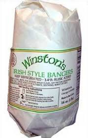 Winston's Irish Style Bangers 1lb 858298001403