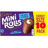 Cadbury Mini Rolls 10pk 5000221602606