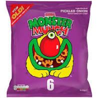 Monster Munch Pickled Onion Multi 6pk