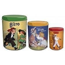 Ah Bisto Vintage Tin (Set Of Three)