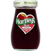 Hartley's Seedless Rasp Jam 340g