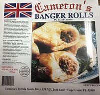 Cameron's Banger Rolls 4pk