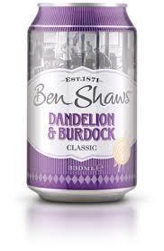 Ben Shaw's Dandelion & Burdock 330ml