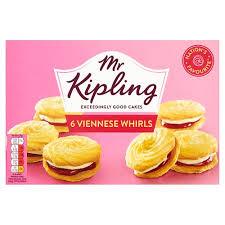 Mr Kipling Viennese Whirls 6pk 5000221006299