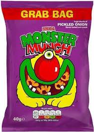 Monster Munch Pickled Onion 40g