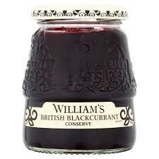 William's British Blackcurrant Conserve