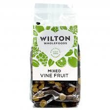 Wilton Mixed Vine Fruit 375g