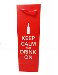 Keep Calm and Drink On Bottle Bag 876718034817