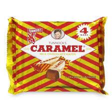 Tunnock's Caramel Wafer 4pk