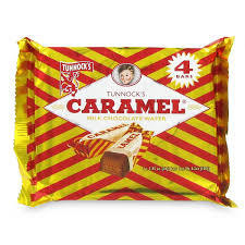Tunnock's Caramel Wafer 4pk
