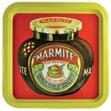 Metal Serving Tray Marmite 5060021934055