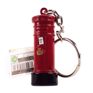 Post Box Keyring