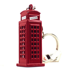 Telephone Box Keyring 5031275110557