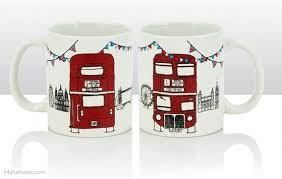 London Bus Sketch Mug