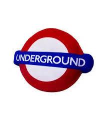 London Underground Cushion