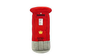 Post Box Plush Cushion