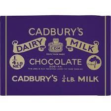 Tea Towel Cadbury