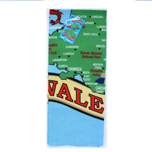 Tea Towel Wales 5031275674936