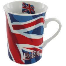 Union Jack Wavy Flag England Mug