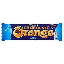 Terry's Chocolate Orange Milk Bar 35g 3664346304979
