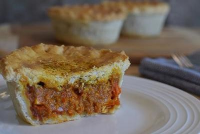 Pie Society Chicken Curry Pie 9oz