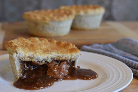 Pie Society Pie Beef Steak & Ale 9oz 025093278716