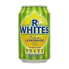 R Whites Lemonade 330ml 5010018003165
