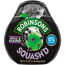 Robinsons Apple Blackcurrant Squash'd 66ml